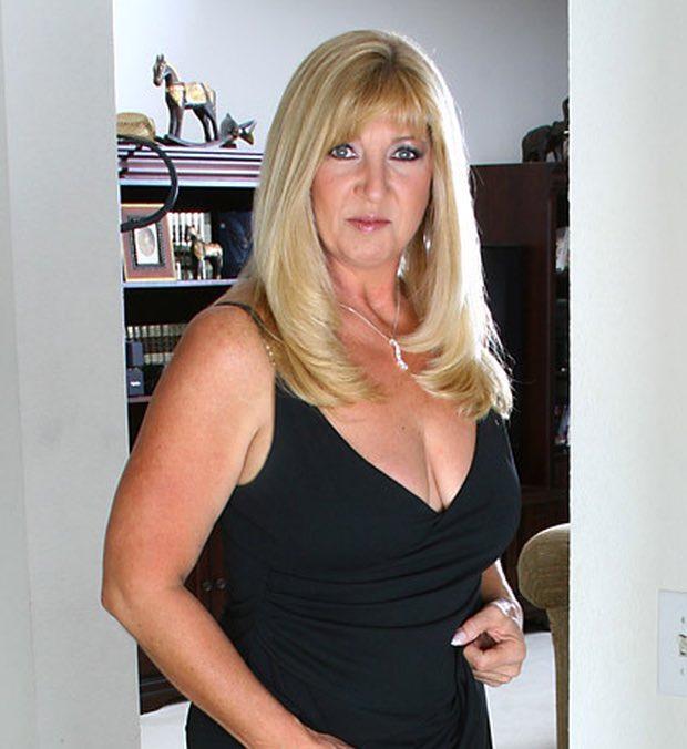 Portrait d'une jolie femme mature